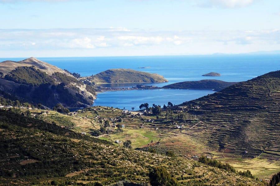 Aussicht vom Cerro Calvario auf die wunderschöne Isa del Sol