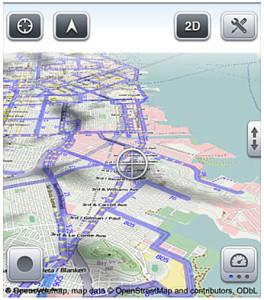 Maps 3D App: Wegpunkte einfach und präzise erstellen