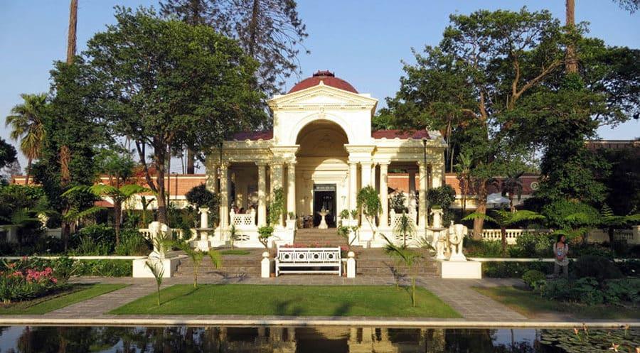 Kathmandu Sehenswürdigkeiten: Der Garden of dreams ist eine Oase der Ruhe und der guten Luft