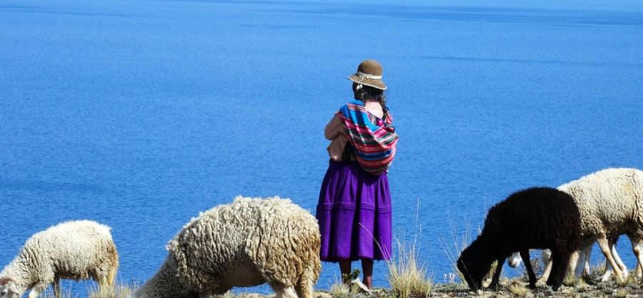 Auf der Isla del Sol, Bolivien