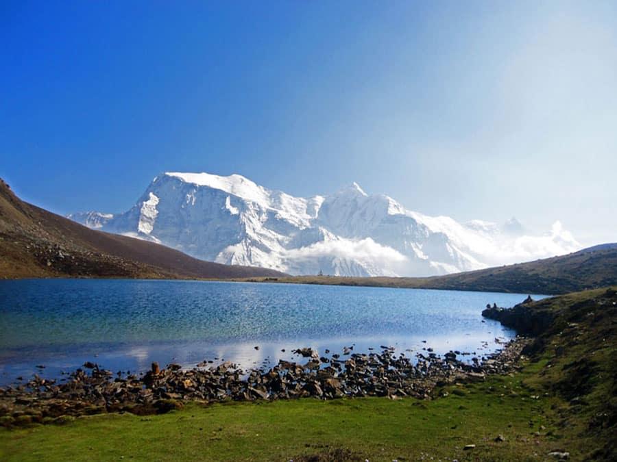 Annapurna Circuit: Der wunderschöne Ice Lake auf 4.600 Metern Höhe