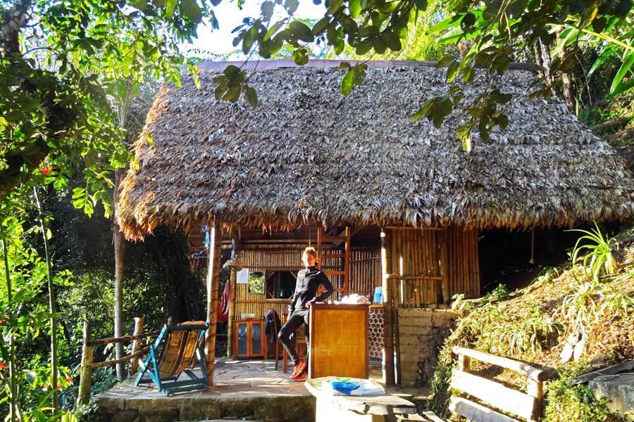In unserer Dschungelhütte in Bolivien sind wir viel länger als geplant geblieben.