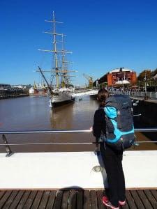Mit leichtem Gepäck in Buenos-Aires unterwegs!