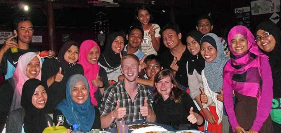 Tolle Menschen in Malaysia