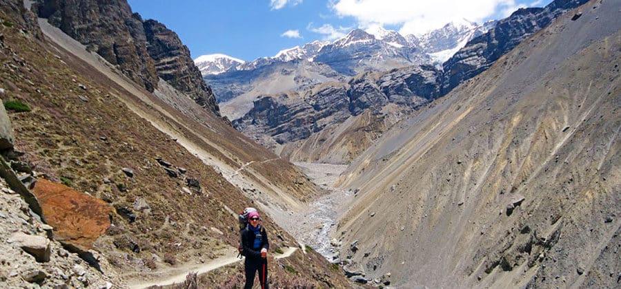 Atemberaubende Wanderung in Nepal
