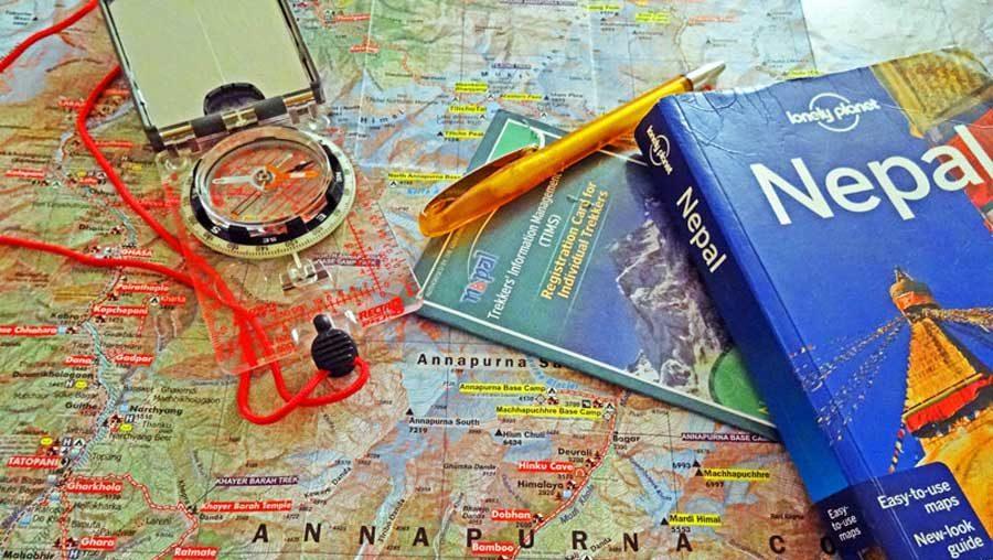 Wir planen unseren Annapurna-Trek
