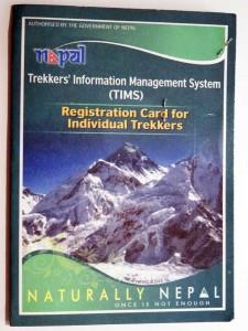 Annapurna Circuit: Jeder Trekker im Annapurna Gebiet braucht eine TIMS-Karte