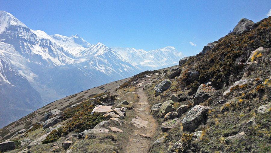 Annapurna Trekking: Wir genießen die atemberaubende Natur
