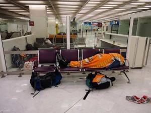 Übernachtung am Flughafen – kostenlos und gar nicht mal so unbequem