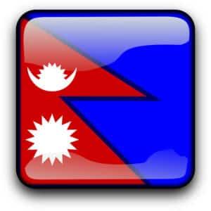 Flagge-Nepal