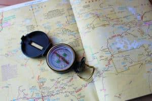 Kompass+Karte