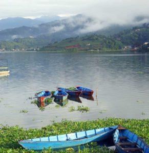 Der wunderschöne Pokhara-See