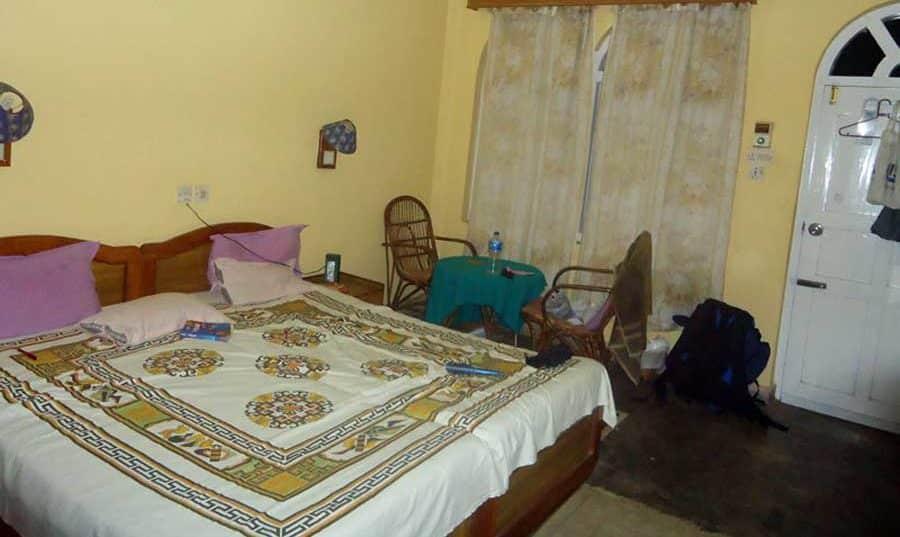 Unsere gemütliche Unterkunft in Pokhara