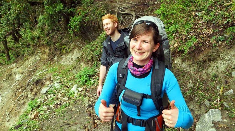 Weltreise Rucksack: Glücklich mit unseren Rucksäcken