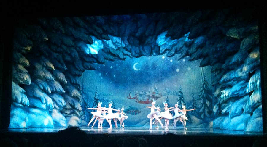 Moskau Sehenswürdigkeiten: Wunderschöne Ballettaufführung