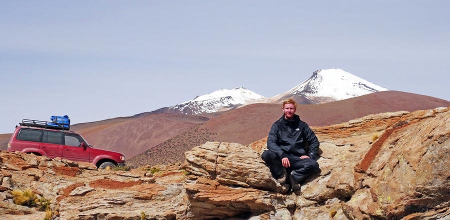 Reiselebenslauf Bolivien Trekking Jeep