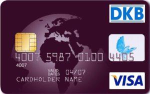 Kreditkarte Weltreise: Die Visa-Karte, Reisekreditkarte der DKB - Automatengebühr in Fremdwährung