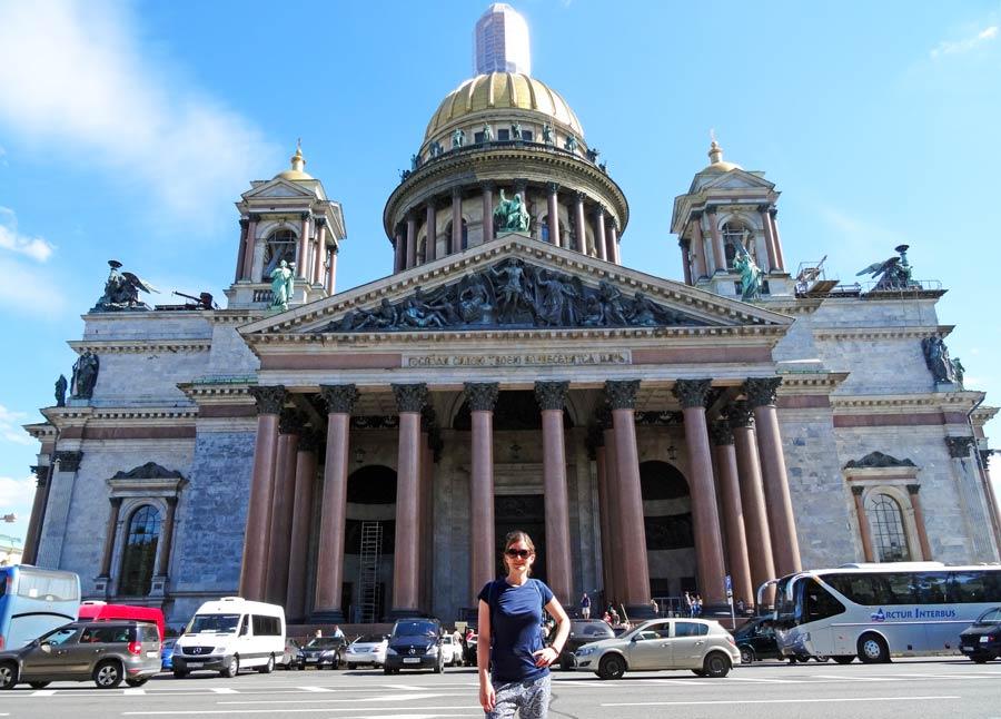 Sankt Petersburg Sehenswürdigkeiten: Isaaks Kathedrale
