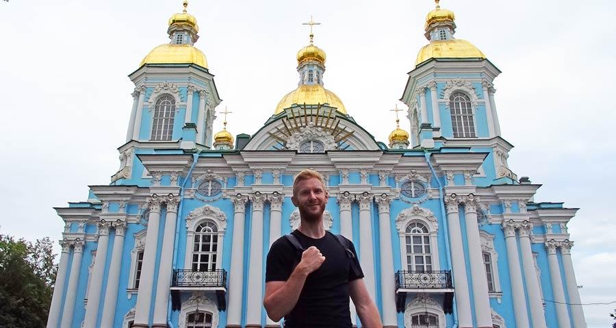 St. Petersburg Sehenswürdigkeiten: Nikolaus Marine Kathedrale