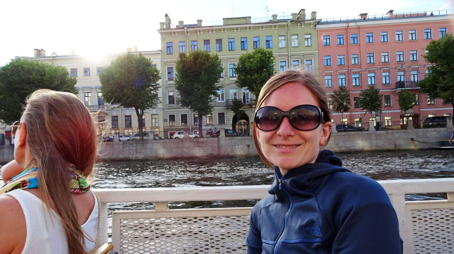 St. Petersburg Sehenswürdigkeiten: Bootsfahrt durch die Kanäle