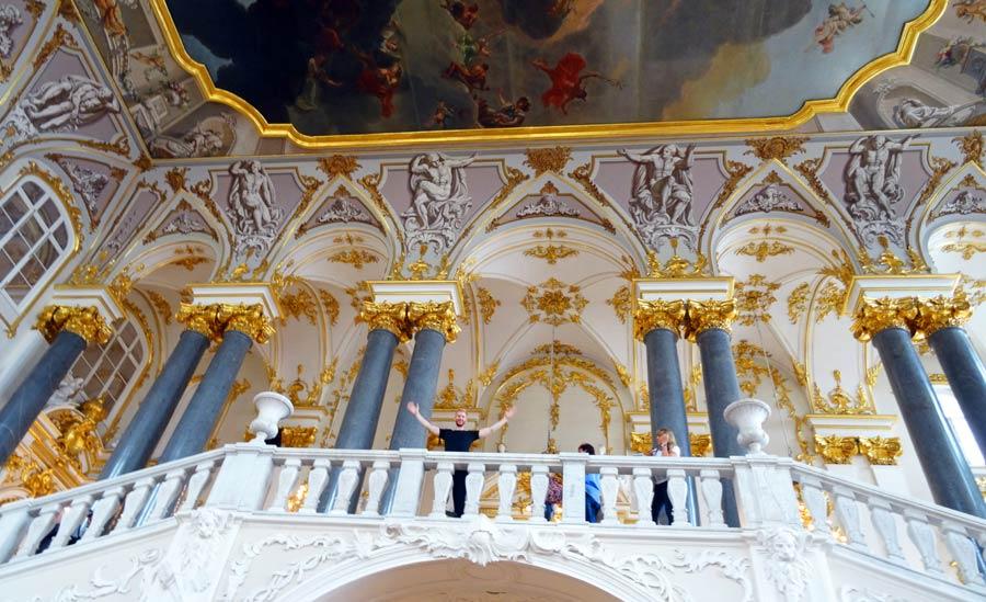 Sankt Petersburg Sehenswürdigkeiten: Eremitage Museum