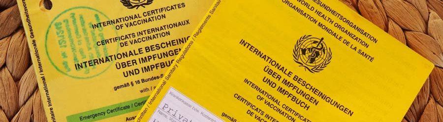 Reisedokumente: Impfpass und Reisekrankenversicherung