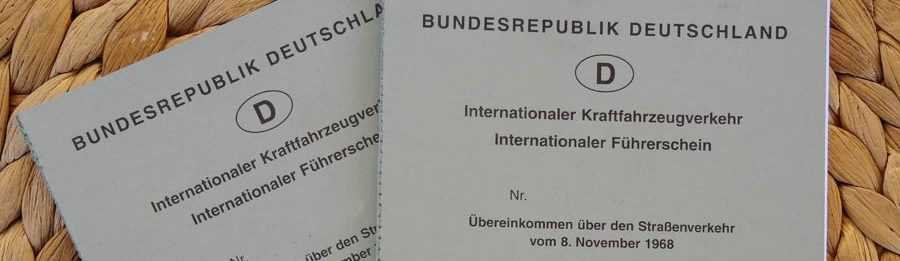 Reisedokumente: Internationaler Führerschein