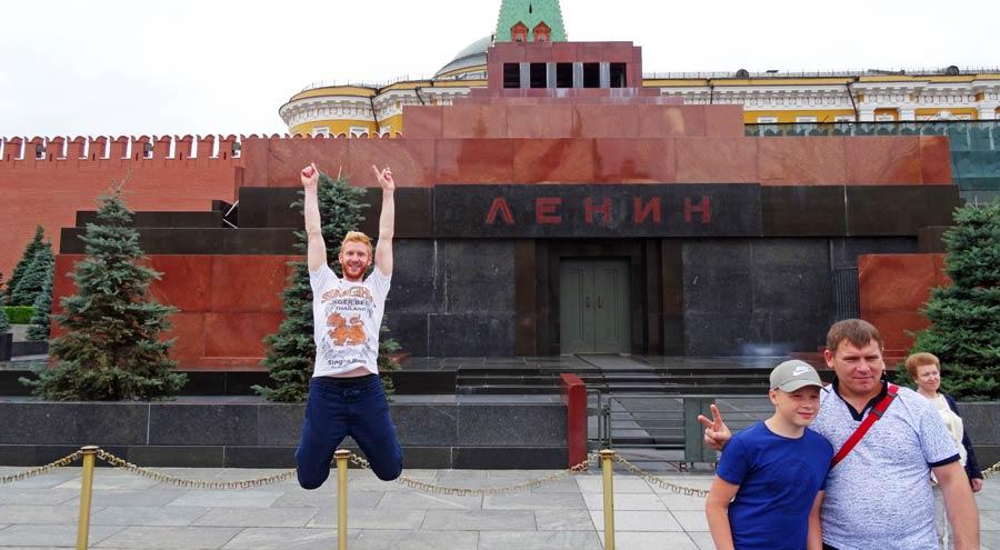 Moskau Sehenswürdigkeiten: Lenin Mausoleum und Kreml