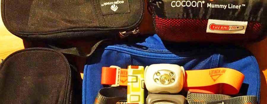 Weltreise Packliste Nützliches: Für Frauen Tampons & Menstruationstasse, Pacsafe und Schlafsack