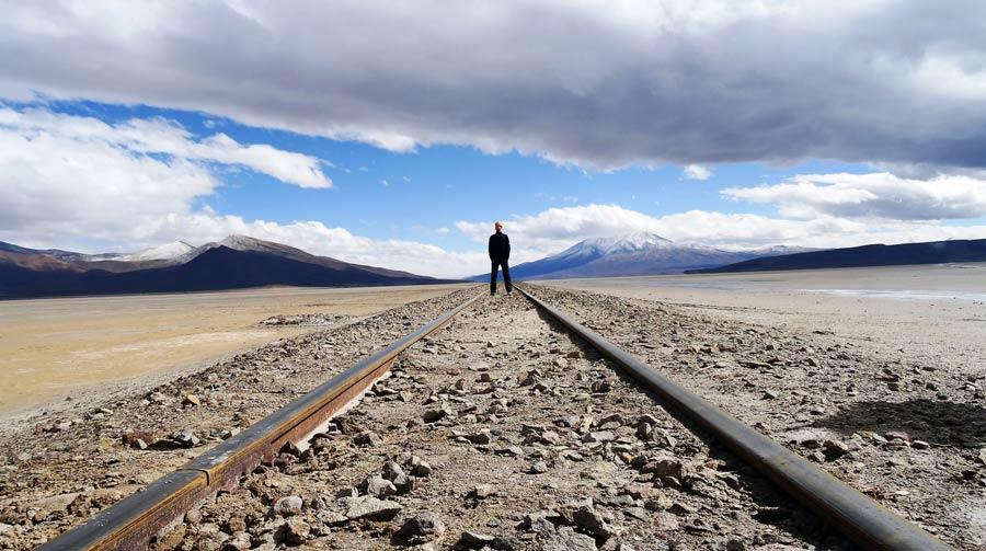 Sebi-Gleise-Bolivien