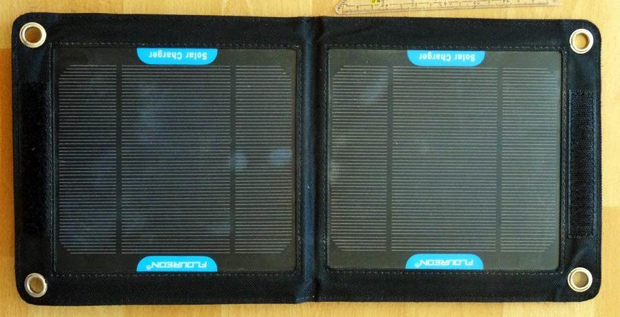 Solarmodul für umweltbewusste Reisende