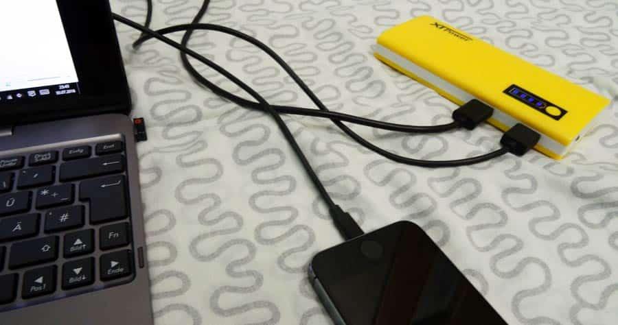 Powerbank Reise: Akkupack für USB-Geräte