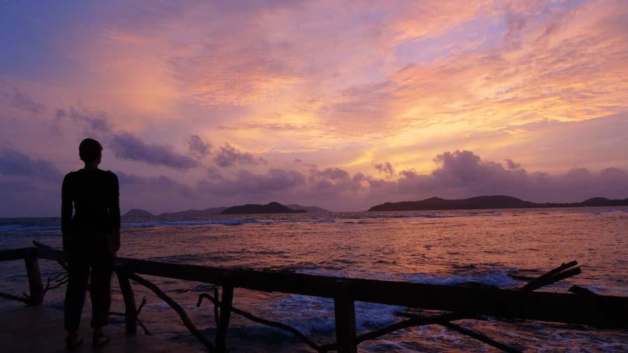 Koh Mak Thailand: Traumhafter Sonnenuntergang