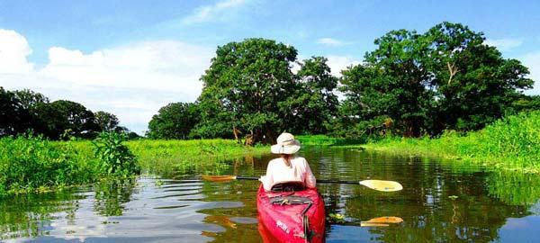 Abenteuer mit dem Kanu in Nicaragua