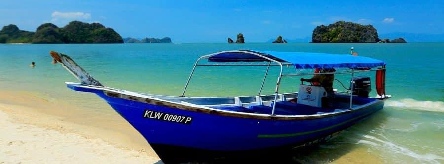 Sonnenschein zur besten Reisezeit in Malaysia