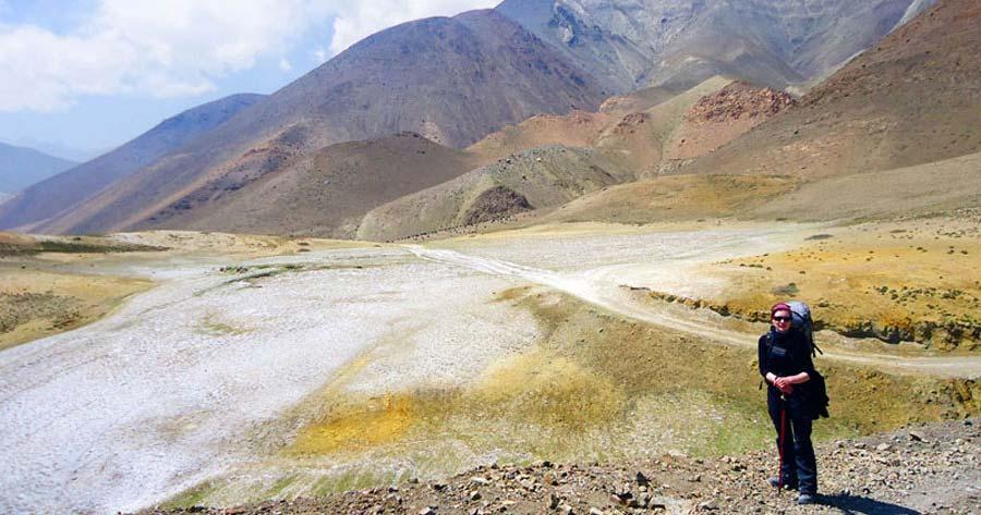 Traumhafte Landschaft beim Annapurna Trek in Nepal
