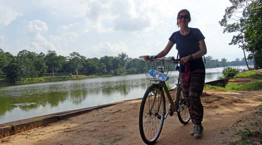 Angkor Wat: Mit dem Fahrrad durch Angkor