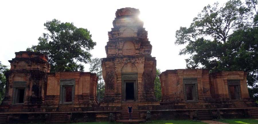 Angkor Wat: Einer der vielen Tempeln von Angkor