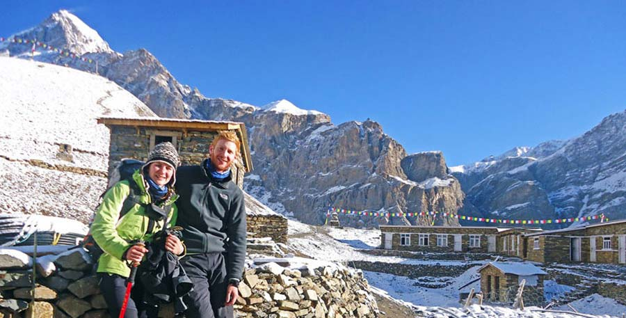 Wanderung in Nepal