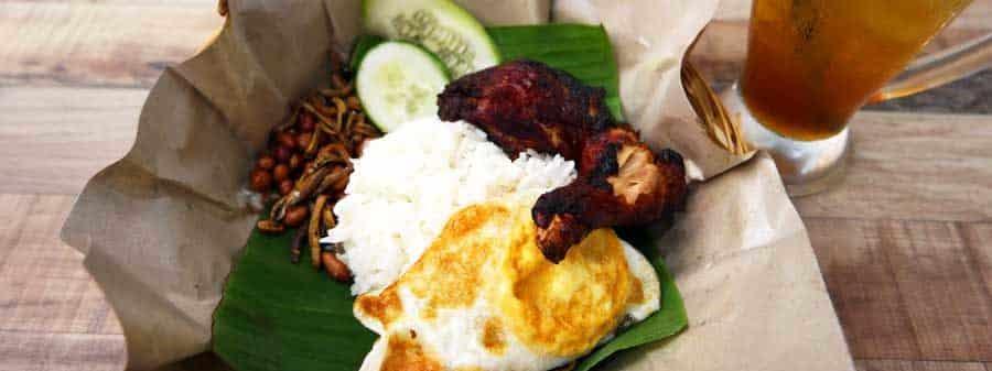 Leckeres Essen in Malaysia