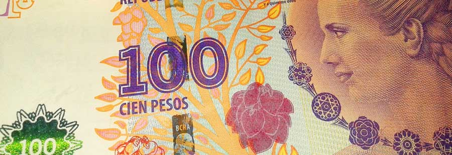 Der Peso ist die Währung in Argentinien