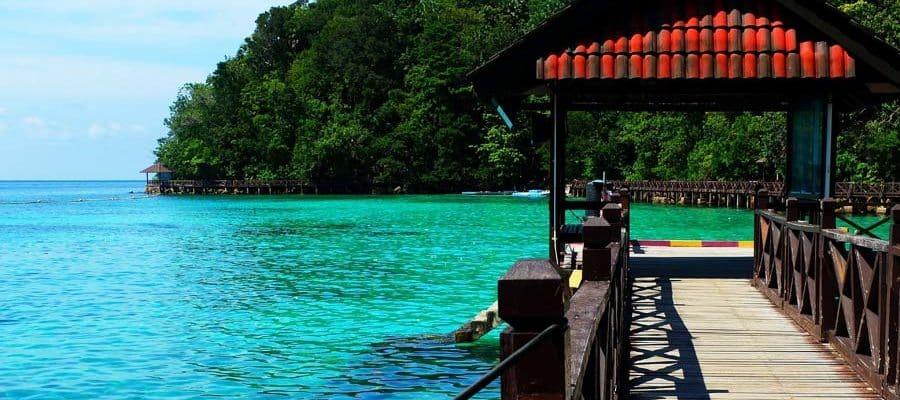 Wunderschöne Insel in Malaysia