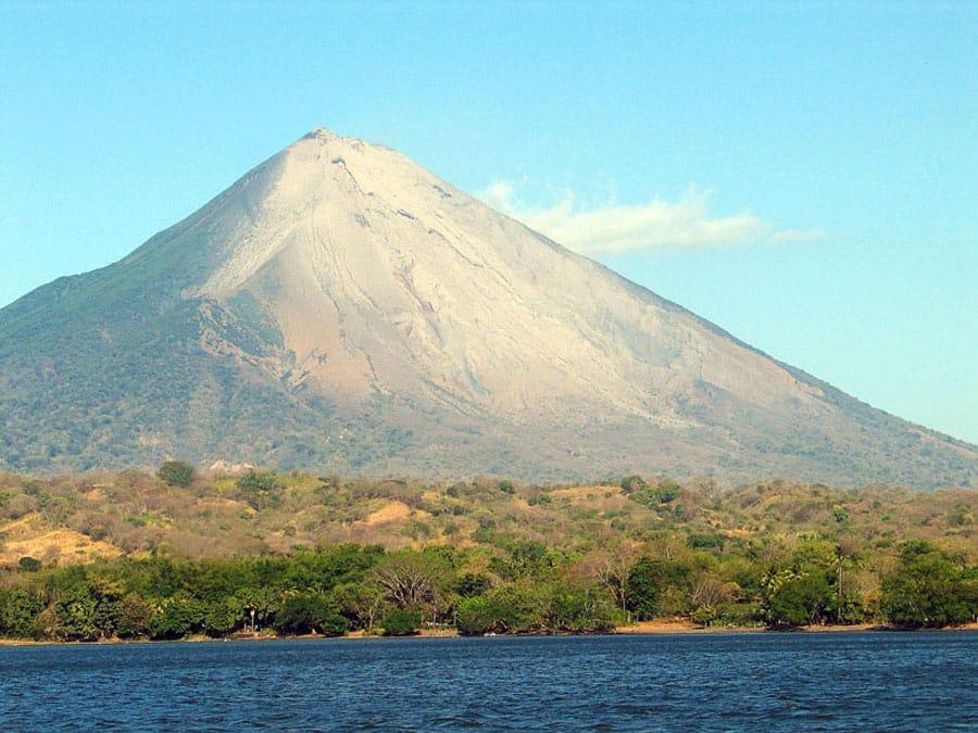 Die Isla de Ometepe auf dem Nicaragua-See