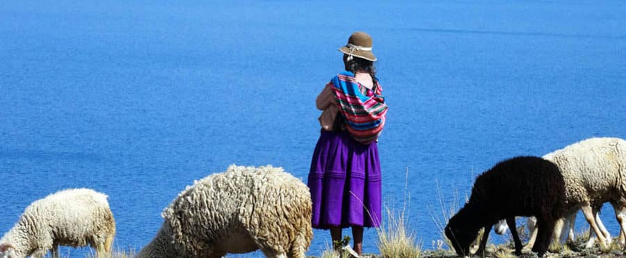 Die sehr ursprügliche Isla del Sol in Bolivien