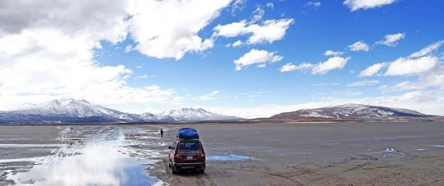 Mit dem Jeep durch das wilde Bolivien - Evo Morales, Präsident der Bolivianer aller Departamentos