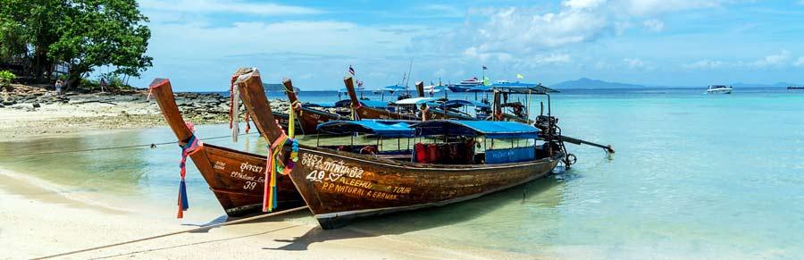 Auf Reisen Geld verdienen: Koh Phi Phi Thailand