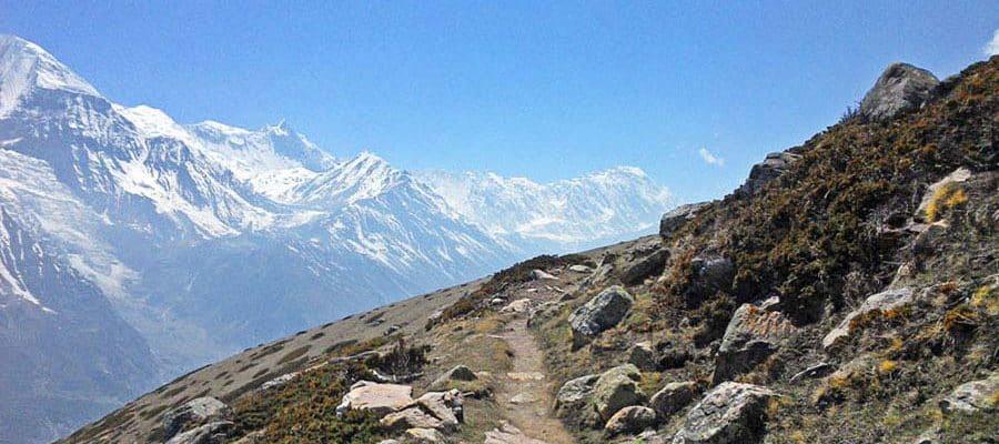 Traumlandschaft beim Annapurna Trek in Nepal