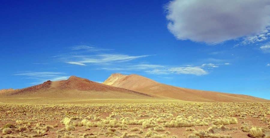 Der Nationalpark Lipez im Sueden Boliviens