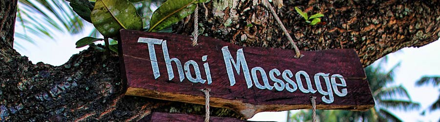 Die besten Massagen gibt es in Thailand