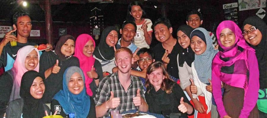 Tolle Einheimische in Malaysia
